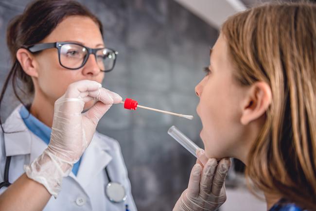 Test de dépistage de streptocoque